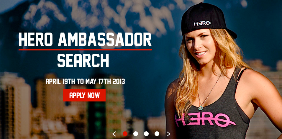 Hero Ambassador Search