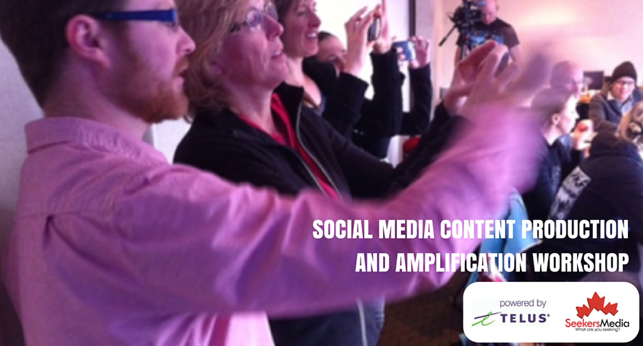 Social Media Content Production Workshop – Speaker