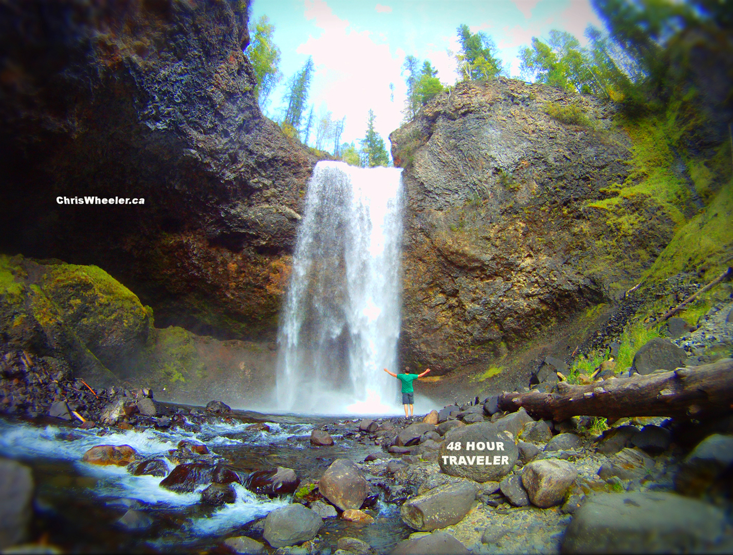 Wells Gray Country: Airplane Tour and Waterfalls