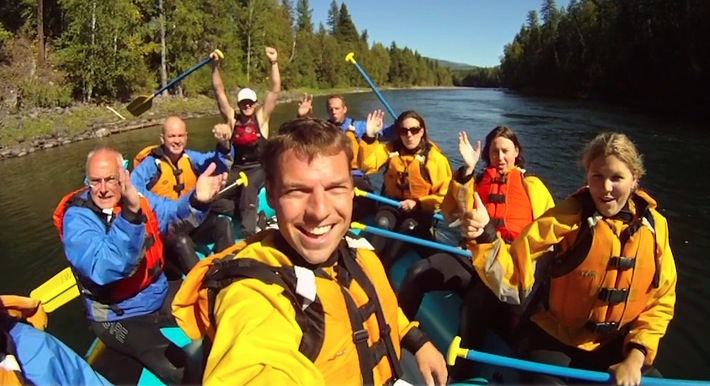 Wells Gray Country: River Raft & Boat Tour