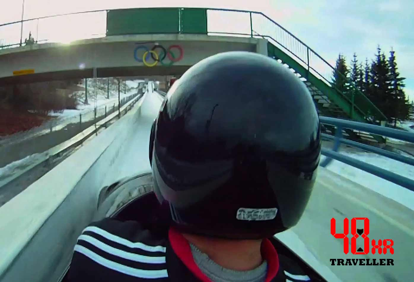 48 Hour Traveller:  Canada Olympic Park Bobsleigh Ride