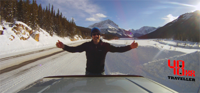 48 Hour Traveller: Icefields Parkway in Jasper National Park