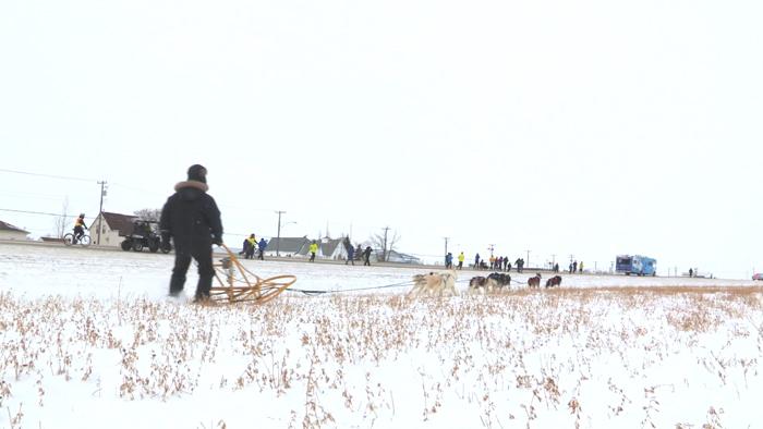 Rick Hansen Relay Participants Persevere Through Canada's Winter in Winnipeg, Manitoba