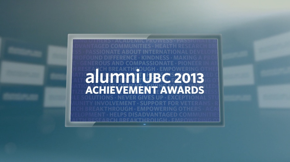 UBC 2013 Alumni Achievement Awards